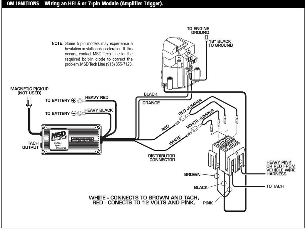 msd 6a wiring diagram msd image wiring diagram msd 6al wiring diagram hei distributor wire diagram on msd 6a wiring diagram